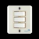 Interruptor Triplo 1 Paralelo SX 4233  10A  250 V