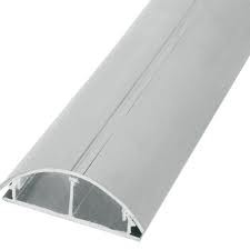 Duto Alumínio Bege c/ Tampa Slim 1,5m QT DS-19020